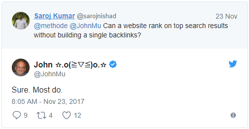 JohnMu Tweet